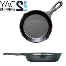 Small Cast Iron Skillet For Eggs Steak Camping Mini Lodge Fr
