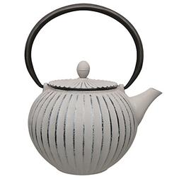 Berghoff Studio Cast Iron Teapot Stainless Steel Infuser Fil