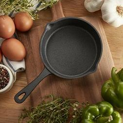 Cast Iron Skillet Versatile PreSeasoned Mini Fry Pan 5.4 Inc