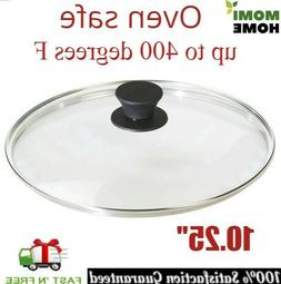 Tempered Glass Lid 10.25 Inch for Cast Iron Griddle Pan Pre